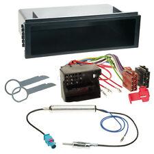 VW Polo 9N3 05-08 1-DIN Autoradio Einbauset+Kabel,Adapter,Radioblende