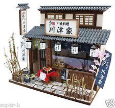 Doll House Handmade kit Japanese Retro Series [Eel Restaurant] Billy Japan