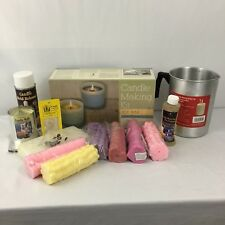 Candle Making Kit Soy and Paraffin Wax Thermometer Containers Wax Scent Dye $145