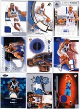 Grant Hill Upper Deck, SP Game Used, Fleer, Topps, Finest Jersey 23 Lot Magic