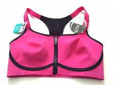 Half Moon Active by Modern Movement Triathlon Sports Bra 32D Pink Gym to Swim