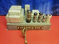 Hammond Tube Amp H-AO-35 Guitar Amplifier Project Carmen Ghia Chassis Test Video