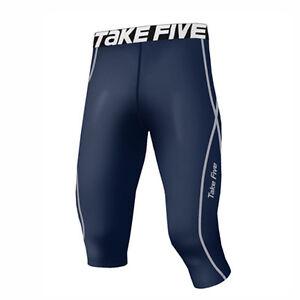 Take Five Mens Skin Tight Compression Base Layer Running Pants Leggings 066