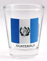 GUATEMALA FLAG SHOT GLASS SHOTGLASS