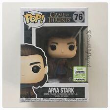 Funko Pop Game of Thrones #76 ARYA STARK ECCC Shared Exclusive - BNIB!