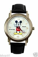 NEW Mens Disney Mickey Mouse Moving Arms Large Watch HTF