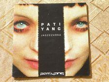 PATI YANG - JASZCZURKA 1998 COLUMBIA TOP RARE FIRST PRESS POLISH ONLY RELEASE