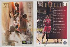 NBA UPPER DECK 1994 COLLECTOR'S CHOICE Michael Jordan Checklist #219 - Ita/Eng
