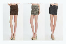 Leopard Skirt Collection 3 Pack Charcoal, Stone Beige and Taupe One Size