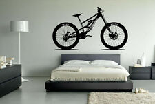 Canyon Downhill Mountain Bike Wall Art Vinyl Decal Sticker Removable Graphic XL