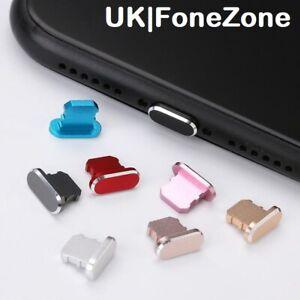 iphone 12 pro mini metal anti dust cap plug cover lint charger lightning port