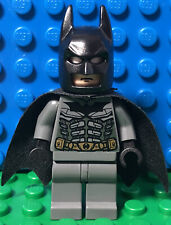 Lego Batman Minifigure 7884 7886 7888 Dark Gray Suit