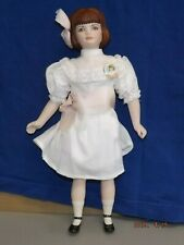 """Vintage Fawn Zeller Us Historical Society """"Polly 2"""" Doll 11"""" Tall Marked #240"""