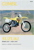 Clymer Repair Manuals Suzuki RM125 1989-1995,RM250 1989-1995,RM80 M386