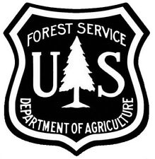 US FOREST SERVICE STICKER / DECAL