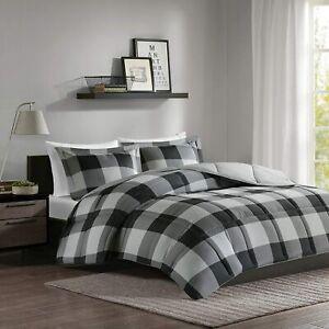 Madison Park Brooks 3M Scotchgard Down Alternative Comforter Mini Set F/Q