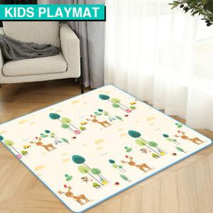 200x180cm Baby Kids Play Mat Crawling Pad Waterproof Foam Carpet Rug Picnic Soft