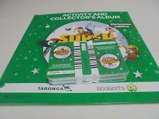 2014 Woolworths Super Animals Album Christmas Ed inc 120 Cards or 30 pkts Unused