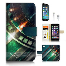 ( For iPhone 7 Plus ) Wallet Case Cover P3152 Cool Metal