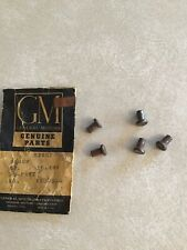 1956-57 CHEVY CORVETTE GM NOS DOOR HINGE HOLD OPEN RIVETS  GM 4180860  QTY. OF 5
