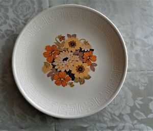 Vintage Johnson Australia Replacement Dinner Plate *Saraband *Greek Key Border