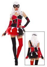 Womens Harley Jester Costume