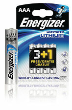 Energizer Lithium-Batterie AAA 1.5 V Ultimate 4-Werbeblister
