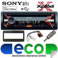 TOYOTA CELINE 00-05 SONY g1100u CD MP3 USB AUX IPHONE AUTO RADIO STEREO KIT NERO