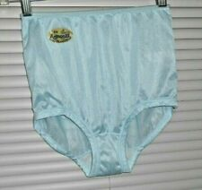 100% Nylon  Pantie Cotton Crotch Size Small   Blue Nice And Silky