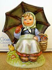 "Hummel Figurine ""Smiling Through"" Hum #408/0 Tm6 Goebel Germany Nib A285"