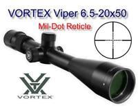 Vortex Viper 6.5-20x50 PA Scope Matte Mil-Dot Reticle 30mm Tube VPR-M-06MD