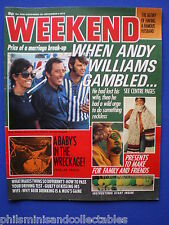 Weekend Magazine - Andy Williams, Maplin - Essex    26th Nov 1975