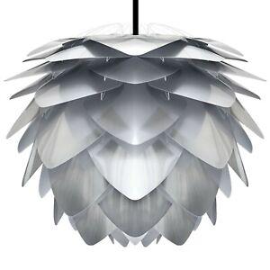 Umage / VITA Silvia Steel Hängeleuchte mit Kabel + Fassung schwarz