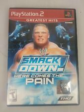 WWE SmackDown Here Comes the Pain Black Label Complete PS2 Game PlayStation