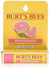 Burts Bees Lip Balm Pink Grapefruit Natural Skincare 0.15 oz