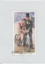1939 Player's Cycling Tobacco Base #19 Simpson Lever Chain Non-Sports Card 1h2