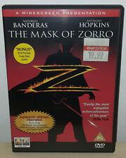 THE MASK OF ZORRO - WIDESCREEN - ENGLISH - DVD