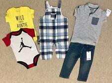 Bundle of Designer Baby Boy Clothes: Janie and jack, Hudson, CARTERS, Jordanie