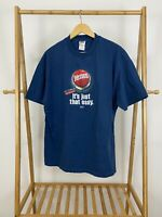 VTG Life's Problems One Solution Jesus It's Just That Easy T-Shirt Size XL