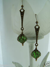 VINTAGE STYLE Dangle Orecchini pendenti Steampunk Deco