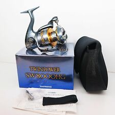 SHIMANO TWINPOWER SW8000HG Reel TWIN POWER SW 8000 HG Fedex Priority 2day to Usa