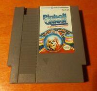 Pinball Quest Nintendo Entertainment System NES Jaleco