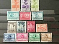 SPAIN 1929, EDIFIL # 434-447, FULL SET, MINT VERY LIGHTLY HINGED,Stamps of Spain
