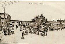 Carte LAON La Gare