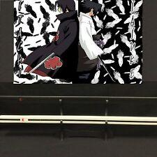 Uchiha Sasuke Japanese Ninja Katana/Sword Black & White Set - Naruto