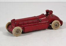 "1910s CAST IRON BULLET RACER / RACE CAR By A C WILLIAMS 5.25"" IN ORIGINAL PAINT"