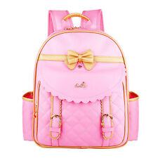 Girls Backpacks Kids School Backpack Rucksack Cute Bowknot Bookbags Handbag Gift