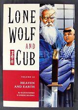 Dark Horse Comic Lone Wolf & Cub #22 Heaven and Earth 1st Edition June 2002 TPB