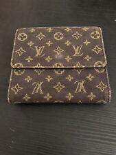 Authentic LOUIS VUITTON Monogram Double Snap Wallet