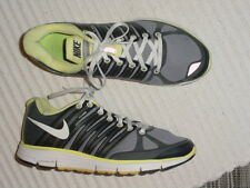 WOMENS NIKE LUNAR ELITE 2 GRAY ANTHRACITE YELLOW WHITE RUNNING SHOES 10 M